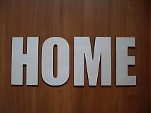 Tabuľky - Vyrezávané písmená  HOME - 3255086