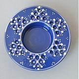 Svícen na čajovou svíčku 10 modrý