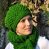 Čiapky - najsamkrajšia ZELENá na čiapke - 3272125