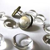 - Napichovačky pár bezniklové 12mm / Antik farba - 3281662