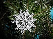 Dekorácie - Snehová vločka - 3284328
