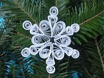 Dekorácie - Snehová vločka - 3284359