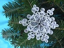 Dekorácie - Snehová vločka - 3284541