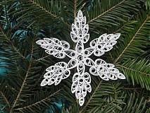 Dekorácie - Snehová vločka - 3284624