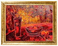 Obrazy - Čas na šípkový čaj I. - 3287434