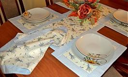Úžitkový textil - Levanduľový set do kuchyne 2 - 3288502
