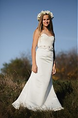 Šaty - Hodvábno-tylový opasok - 3290028