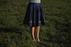 Sukne - Modrotlačová sukňa II. - 3291574
