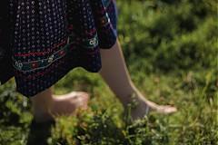 Sukne - Modrotlačová sukňa II. - 3291591