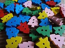 Galantéria - Balíček farebných stromčekov (30ks) - 3295428