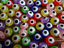 Korálky - Korálky očká - 3295441