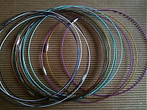 Komponenty - Oceľový náhrdelník na dozdobenie - 3295483