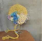 Detské čiapky - zlta - 3308894