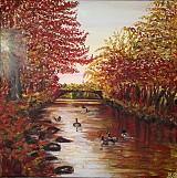Obrazy - Jesenná riečka - 3309481