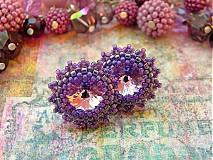 Náušnice - Violet - 3310098