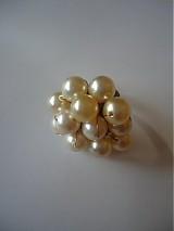 Prstene - Perličkový prsteň - 3310663