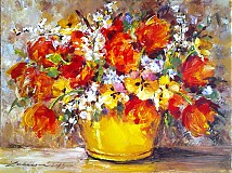 Tulipány a iné kvietky