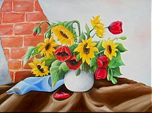 Obrazy - Kvety - 3311157