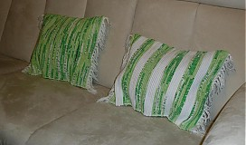 Úžitkový textil - Súprava- tkané obliečky na vankúše - 3318017