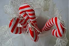 Lízatká vianočné