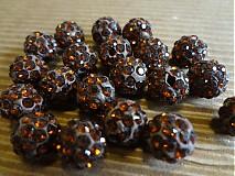 Korálky - Čokoládové disco gulôčky - 3324173