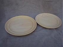 Nádoby - lipové taniere - 3325379