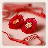 Náušnice - Caramelised cherries (58t) - 3328992