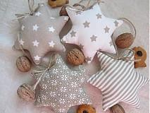 Dekorácie - vianočné hviezdičky 2 - 3330323