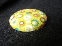 Odznaky/Brošne - Brošnička Zelené bodkokvietky - 3332860