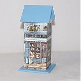 Nádoby - Domček na čaj - Modrý obchodík - 3333200