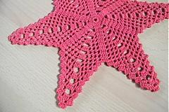 Úžitkový textil - Háčkovaná vianočná hviezda - 3336260