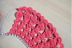 Náhrdelníky - Háčkovaný náhrdelník - 3336375