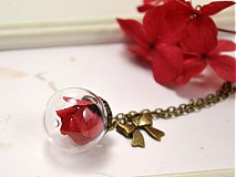 Náhrdelníky - Carmen - sklenený prívesok - 3336524