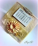 Papiernictvo - Nežný vintage na celý rok... - 3338204