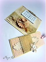 Papiernictvo - Nežný vintage na celý rok... - 3338207