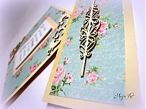 Papiernictvo - Shabby Chic kalendárik - 3338295