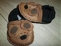 Obuv - kožené papučky - capačky - 3340472