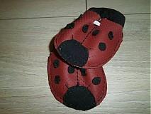 Obuv - kožené papučky - capačky - 3340706