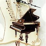 - Hudobné hodiny Klavír - 3346995