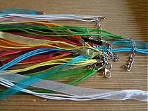 Šifónový náhrdelník