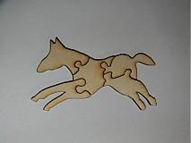 Drobnosti - Puzlle  kôň - 3347603