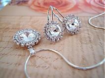 Sady šperkov - Súprava crystal - pre nevestu (hipoalergénna) AKCIA - 3351023