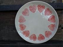 - Tanier Srdiečko ornament 28cm - 3361178