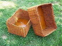 Košíky - Pletený košíček na čokoľvek - 3361793