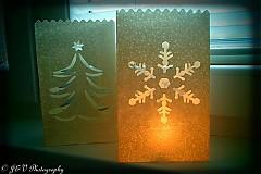 Svietidlá a sviečky - Svetlušková vločka - 3364197
