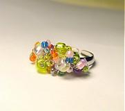 Prstene - Pestrofarebný - 3367787