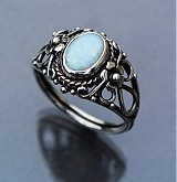Prstene - Opal Art & Craft ring - 3367790