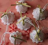 - Vianočné ozdoby - Sada zvončekov - 3377644