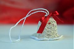 Dekorácie - Vianočná ozdoba Zvonček - 3378582