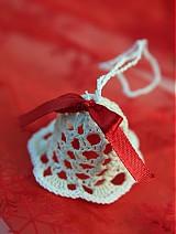 Dekorácie - Vianočná ozdoba Zvonček - 3378583